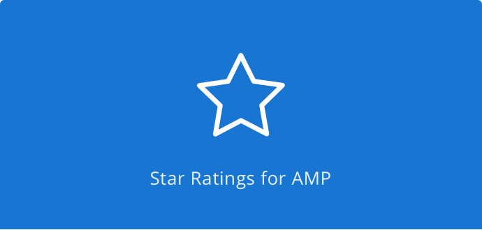 Star Review Ratings for AMP