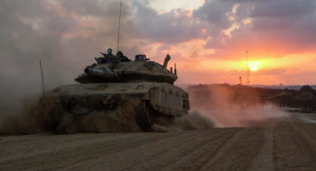 Israeli Defense System Shoots Down Barrage Of Mortar Fire From Gaza