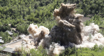 North Korea Demolishes Tunnels At Nuclear Test Site, Reports Say