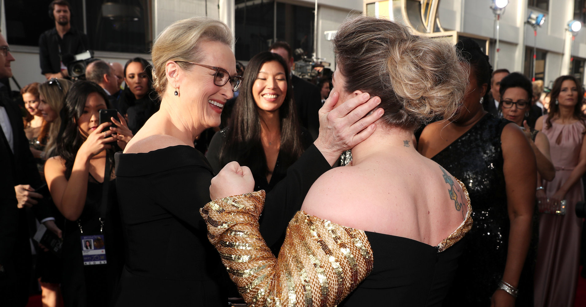 A Stunning Look At 4 Decades Worth Of Meryl Streep's Oscars Style