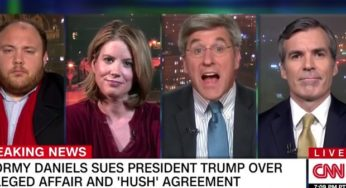 Watch A Trump Backer's Painfully Dumb Joke Startle Everyone Into Silence On CNN