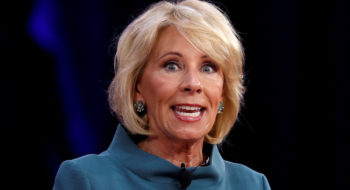 Betsy DeVos Says She's 'Misunderstood,' Then Struggles To Explain Her Own Policies