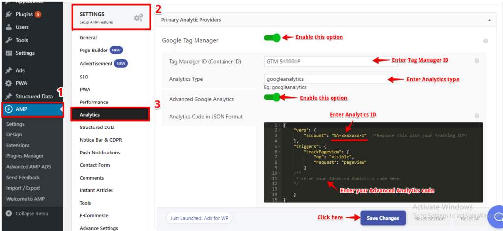 How to track a click event in GTM AMP - AMP Tutorials