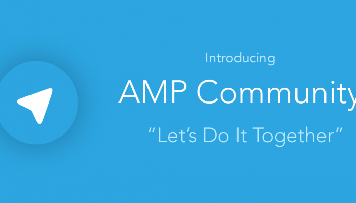AMP Telegram Community