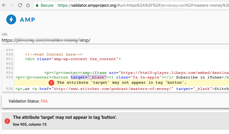 AMP Validation Errors and Solutions - Troubleshooting Google AMP