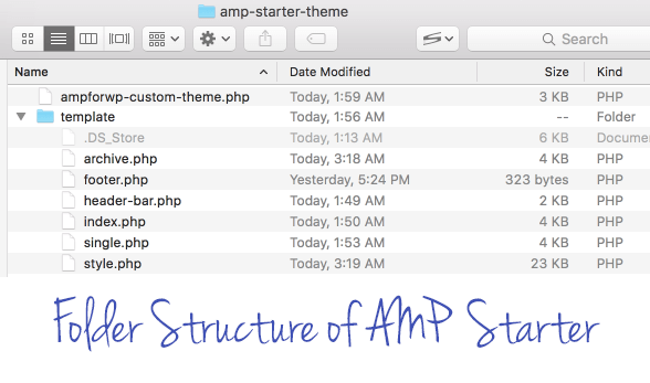 Structure of AMP Starter
