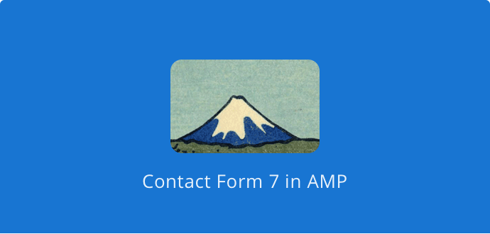 Enables Contact Form 7 integration in AMP
