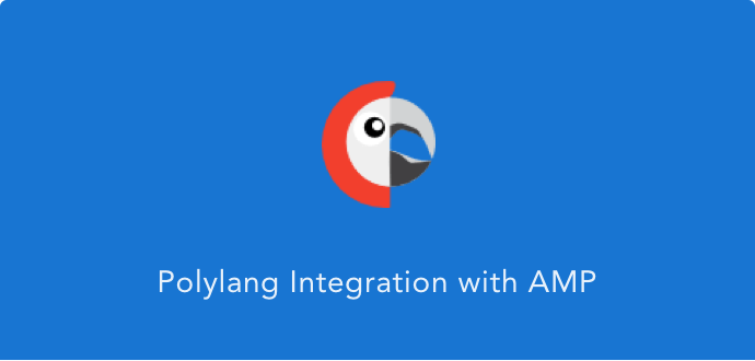 AMP Polylang Multilingual plugin